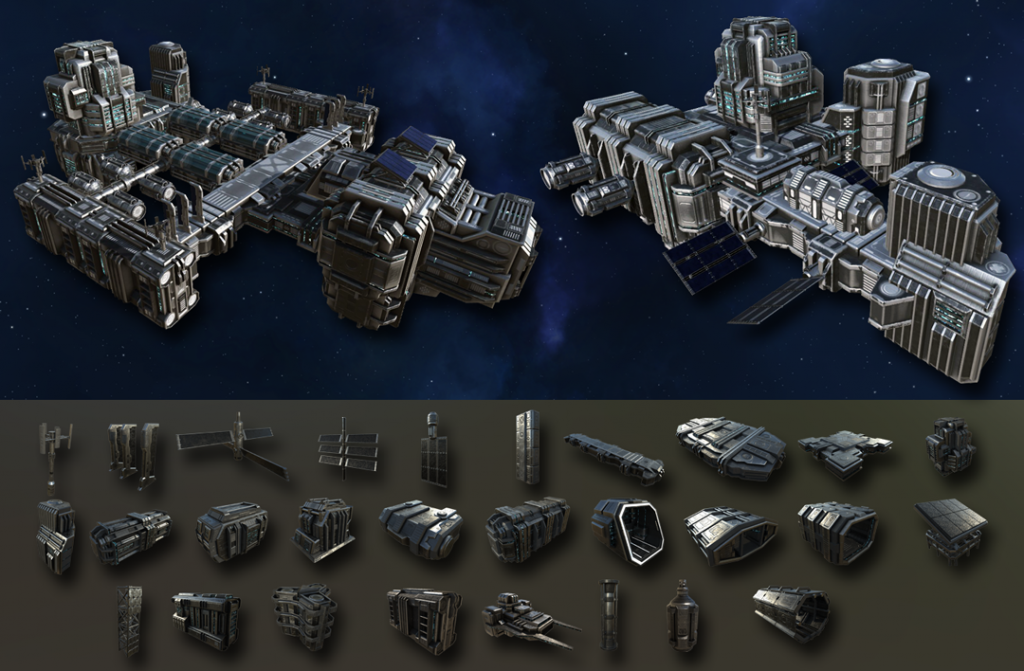 Stellar Tactics space stations